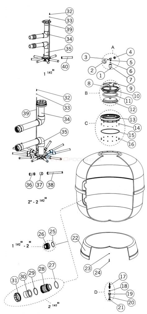 sand filter parts diagram astral aster sand filter parts inyopools