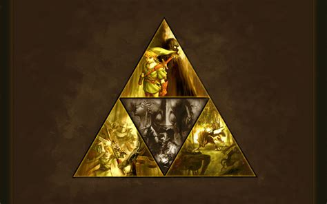 Triforce Papercraft - legend of triforce by onewhogreeteddeath on deviantart
