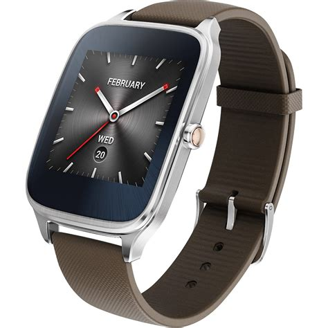 Asus Zenwatch 2 49mm Wi501q Asus Zenwatch 2 Taupe Rubber 49mm Wi501q Silver Jakartanotebook