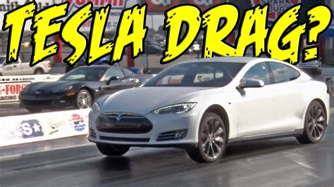 tesla drag tesla p85d drag 1320video