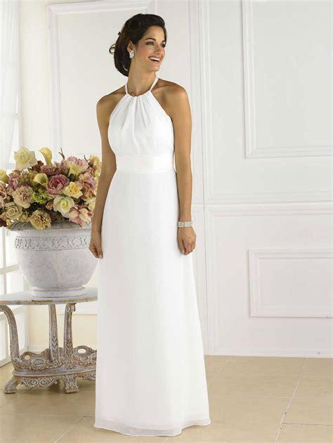 White Wedding Dresses Uk by Pretty White Bridesmaid Dress 1 1 Dresscab