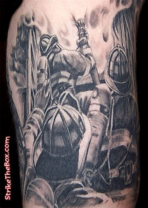 action tattoo firefighter tattoos tattoos book