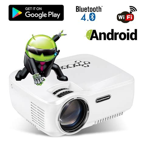 projector app for android phone android wifi bluetooth projector warranty included erisan multimedia mini pro portable led