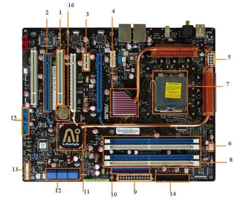 Motherboard Components And Connectors Explained