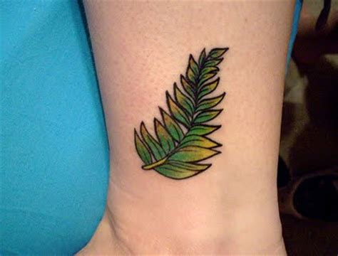 tatoo fern tattoos for style and attitude
