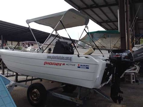 pioner boats for sale in singapore pioner active polyethelene boat from norway new for sale