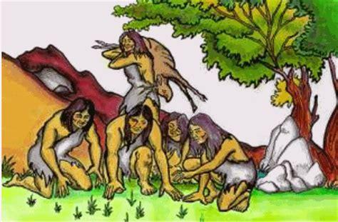 imagenes sobre la vida nomada la vida humana y los procesos laborales comunidad primitiva