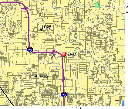 Troy Michigan Map by Troy Mi Map Submited Images