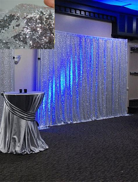draping material for sale 8ft 8ft gold chagne shimmer sequin fabric backdrop