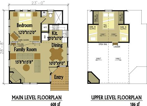 small vacation home floor plans lovely small cabin designs
