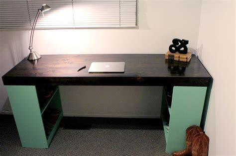 Diy Easy Desk Diy Mint Chocolate Chip Desk Tutorial Infinity Ersand