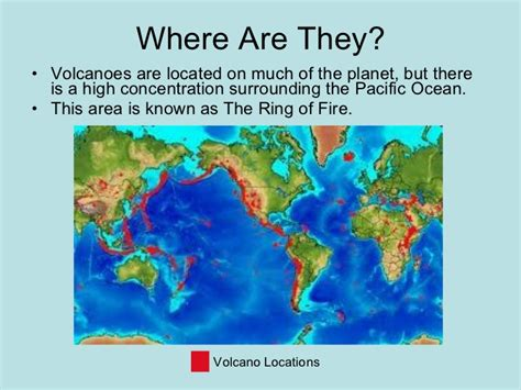 Where They Found 551 volcanoes tgale