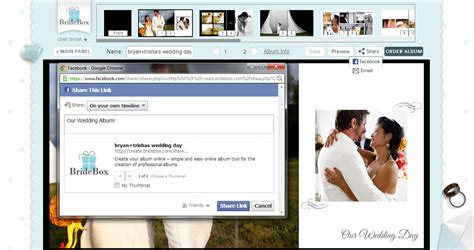 Wedding Fb by Your Wedding Album With Friends And Family