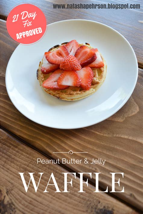 whole grain waffle 21 day fix pehrson 5 breakfasts 5 minutes 21 day fix