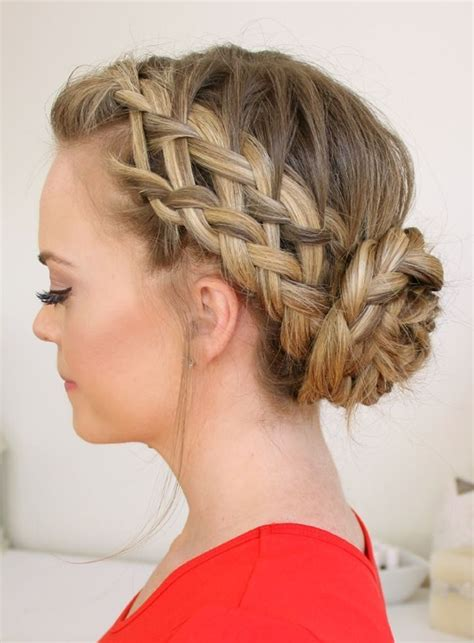 Braided Hairstyles For by 101 Braided Hairstyles For Hair And Medium Hair