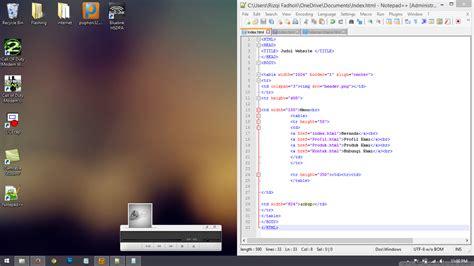 membuat online shop dengan html membuat online shop sederhana menggunakan html fadholi