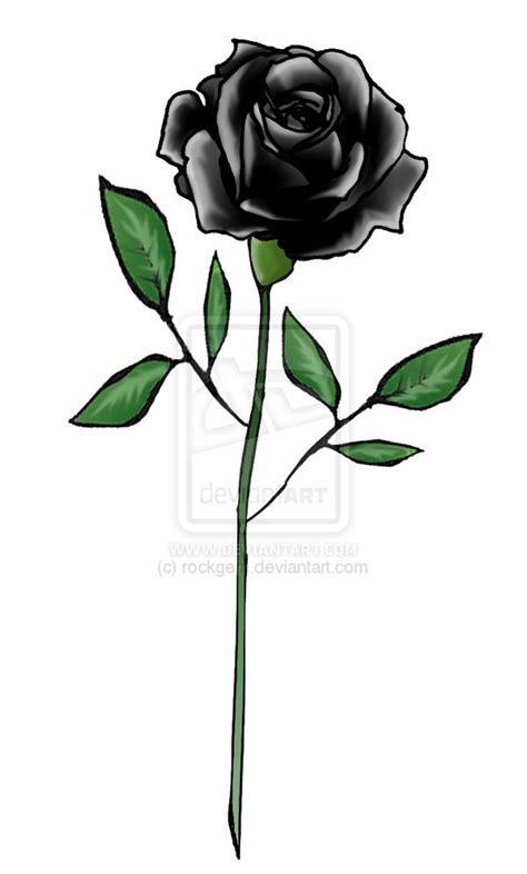 imagenes negras sin fondo tatuajes de rosas negras dise 241 os y significado im 225 genes
