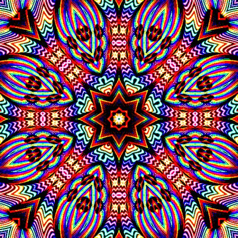 kaleidoscope pattern video trippy kaleidoscope repetition creates pattern