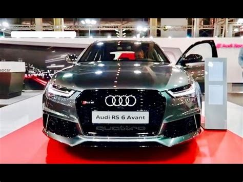 New Audi Rs6 2018 by New 2018 Audi Rs6 Exterior Interior