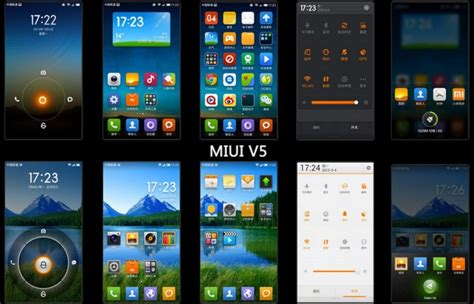 themes miui v5 theme collection all miui v5 september android