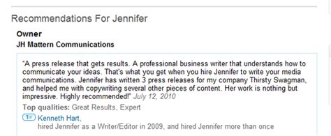 Letter Of Recommendation On Linkedin how to write better linkedin recommendations