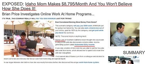 is automated daily income a scam or can it really