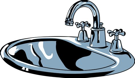 Chrome Kitchen Faucets by Clipart Sink