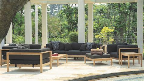 modern teak cushion  seater sofa contract hotel luxury
