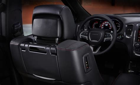 jeep durango interior car and driver