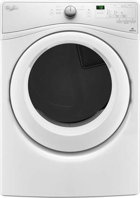 Where To Vent Gas Dryer - wgd75hefw whirlpool duet 27 quot 7 4 cu ft gas dryer