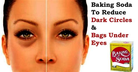 4 Things That Cause Your Eye Circles And Puffiness by Baking Soda To Reduce Circles And Bags