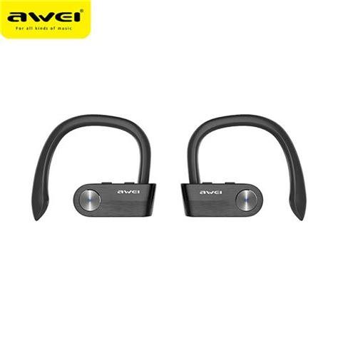 Awei Earphone Bluetooth Wireless Headset Microphone Il93bl awei t2 wireless bluetooth earphone with mic black