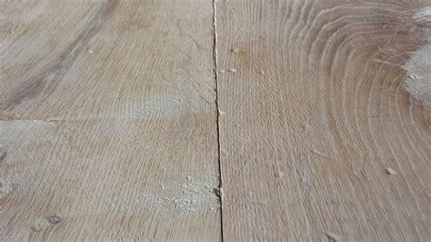 Kersenhouten Tafel White Wash by Verouderde Houten Vloeren Plankenland