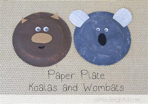 Koala Paper Plate Craft - 17 best ideas about koala craft on amigurumi