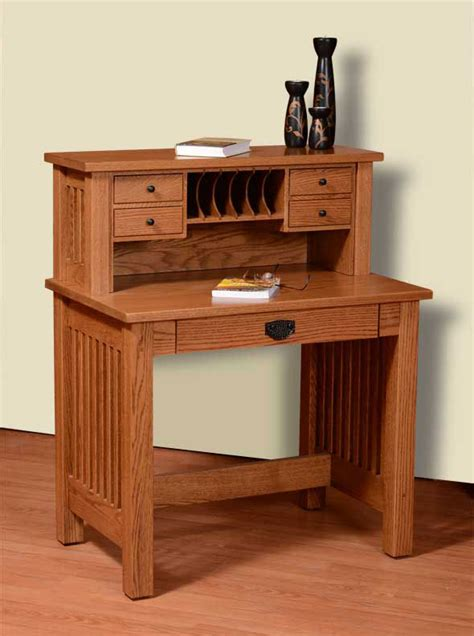 36 Writing Desk by Mission Valley 36 Quot Deluxe Writing Desk Ohio Hardwood