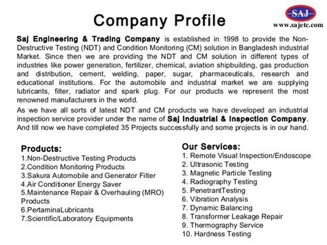Air Conditioning Company Profile Template
