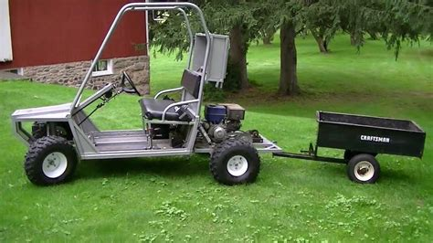 home built cer plans my homemade utility vehicle youtube