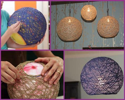 diy yarn diy yarn chandelier lshade globe pendant l