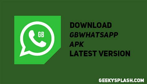 donload android apk gbwhatsapp apk for android geekysplash