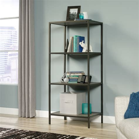 5 reasons to choose open shelves in the kitchen jenna burger media console tower industrial open shelves stand wood