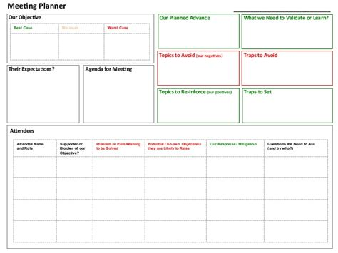 event planning tools templates meeting planner tool