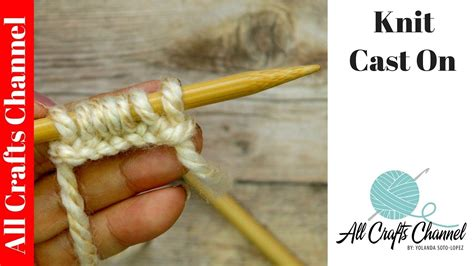 easy way to cast on in knitting learn to knit easy cast on