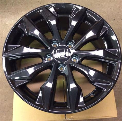 Honda Oem Wheels by Genuine Oem Honda Civic 17 Quot Black Alloy Wheel 08w17 Tea