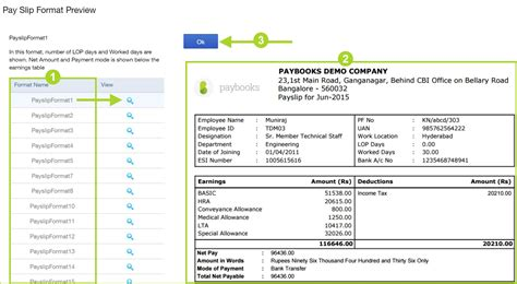 quickbooks payslip template payroll payslip template profit and loss statements free