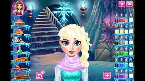 Haircut Games Play Online | frozen game disney elsa real haircut dress up makeover fun