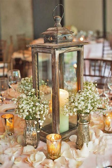 lantern centerpieces for wedding tables 20 wedding ideas with candles wedding