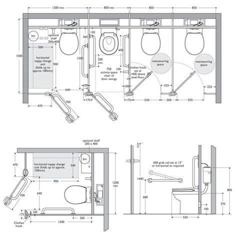 Toilet Cubicle Layout | interiors ref toilet cubicle dimensions interiors