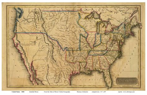 map of the united states in 1800 old us map from early 1800 s maps pinterest genealogy