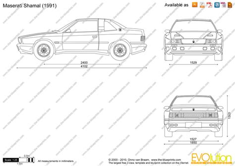 maserati vector the blueprints com vector drawing maserati shamal
