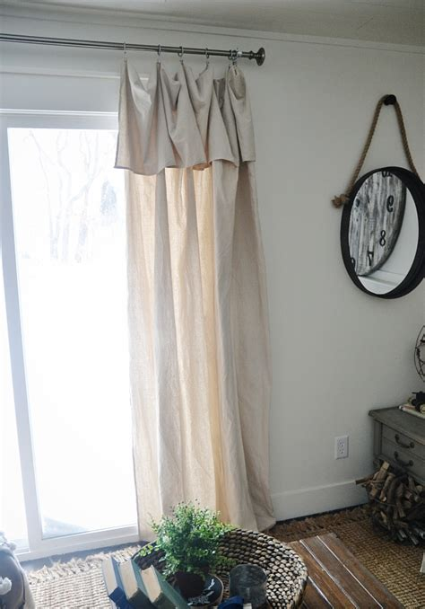 New Curtains Some Diy No Sew Curtains